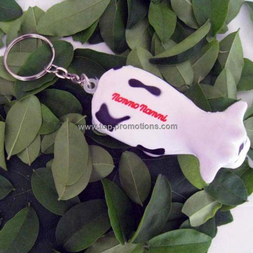 PU Cow Toy with key chain