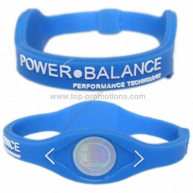 Silicone Power Bracelets