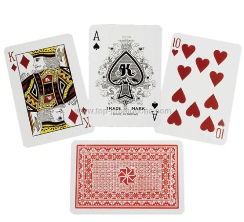 Royal All Plastic Braille Playing Cards