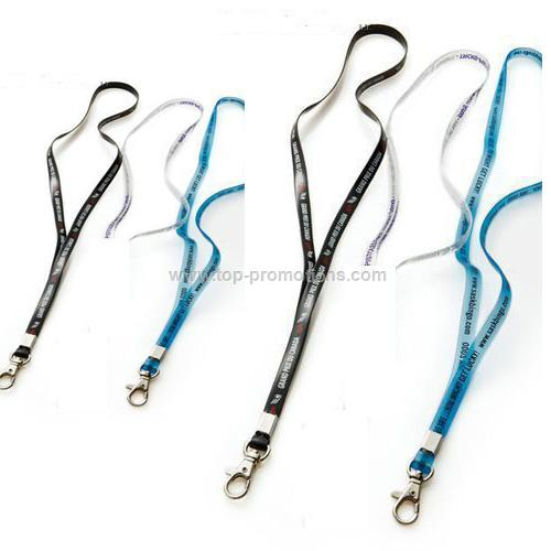 Thin vinyl lanyards - 3/8 is