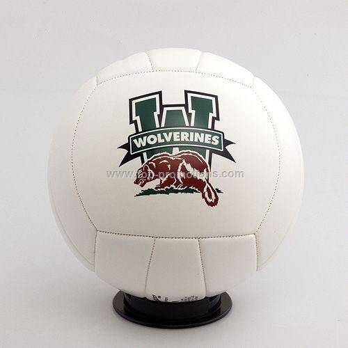 12 is  Full Size Autograph Volleyball