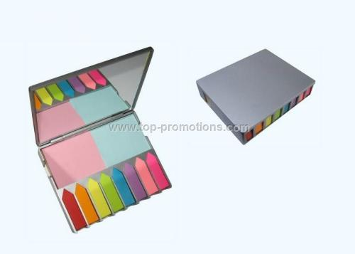 Note pad with Mirror