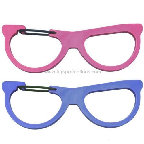 Cool Glasses Shaped Carabiner