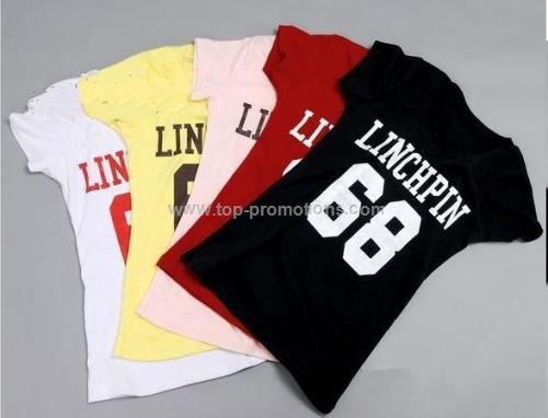 Lycra Mix Cotton T-shirts for Girl