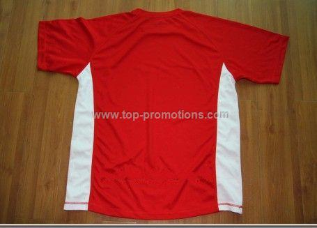 Polyester Round Neck T shirt