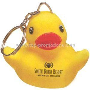 Promotional Key Chain - Rubber Duck Key Chain