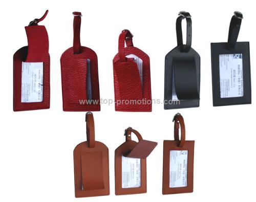PVC PU Leather Luggage Tag