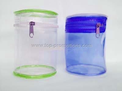 PVCzipper bag ,comestic bag