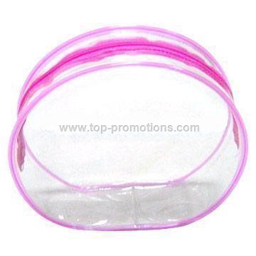 PVC Nylon Zipper Bag