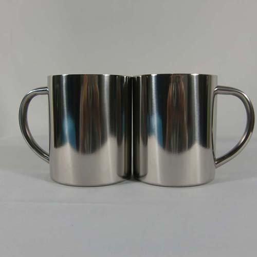 10OZ 300ML Stainless Steel Coffee Mug Camp Cup wit