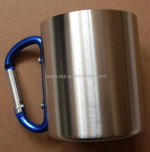 8OZ Stainless Steel Coffee Mug Camp Cup