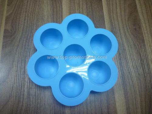 Nontoxic silicone cake mould