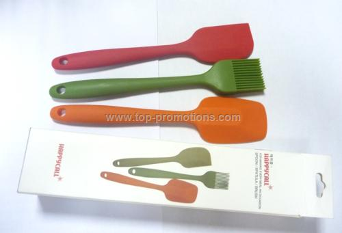 Nontoxic ecofriendly silicone brushes