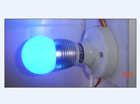LED Colorful light bulb 3W
