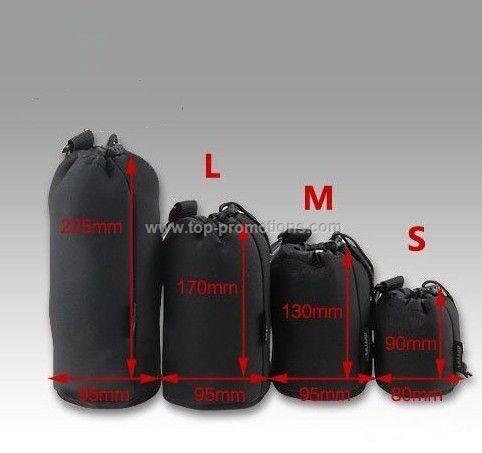 Neoprene Camera Lens Pouch bag