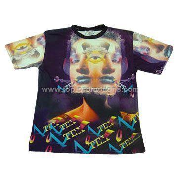 Digital Textile Printed T shirt