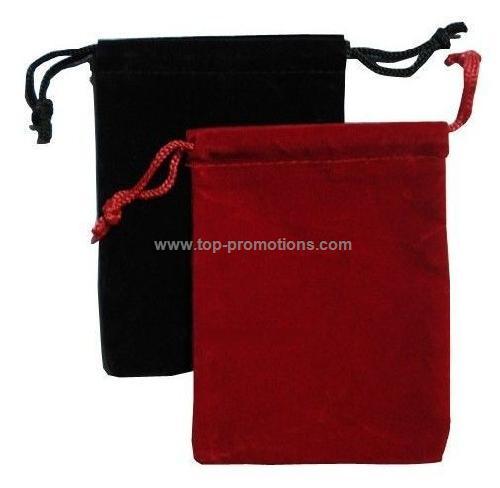 Velvet Pouch Drawstring Bag