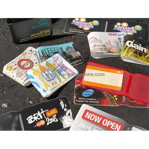 Travel card wallet