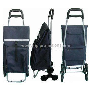 Shopping Bag With Climbing Wheels