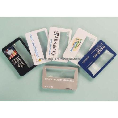 Light Credit Card Magnifier