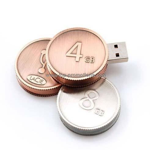 Coin USB Flash Drive