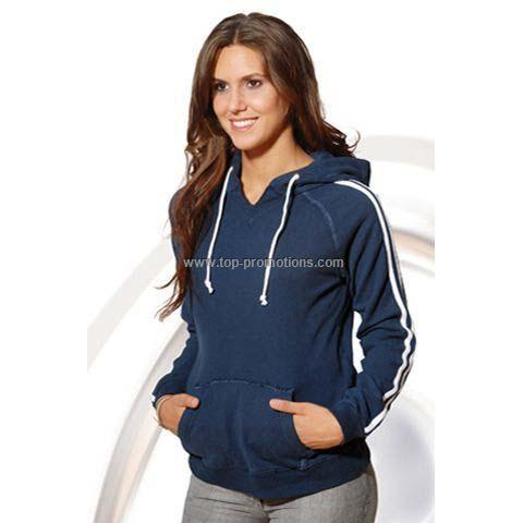 Ladies Pullover port Hood