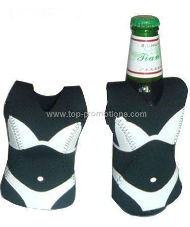 neoprene sexy bottle cooler