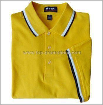 Bar Collar Golf Shirts for Men Polo Shirt