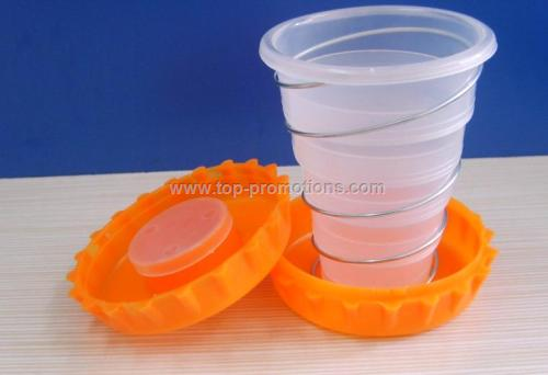 Promotional Collapsiblec Cup