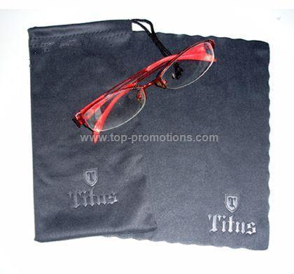 Fiber Sunglasses bag with cloth