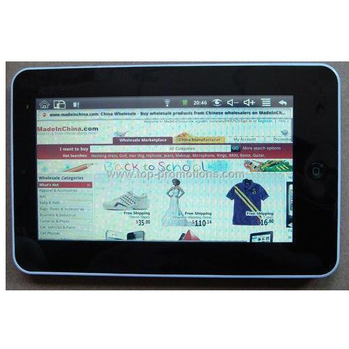 7 inch Touch Screen Tablet PC