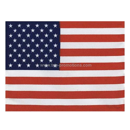 Polyester flags with grommets