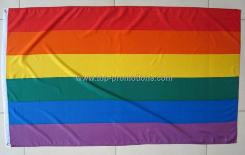 Promotional Rainbow flags