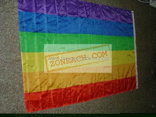 Outdoor Rainbow Flags