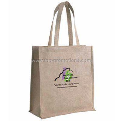 Jute Tote Bag - Printed