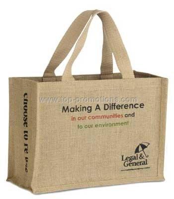 Jute shopping bag,jute tote bag, wine bag