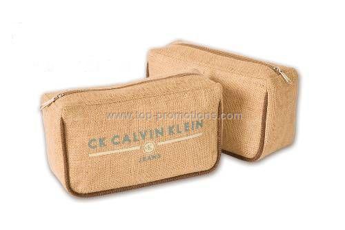 MAUI Jute  Burlap Accessory Bag