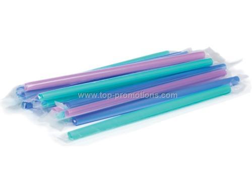 9 is  Plastic Milkshake Straws