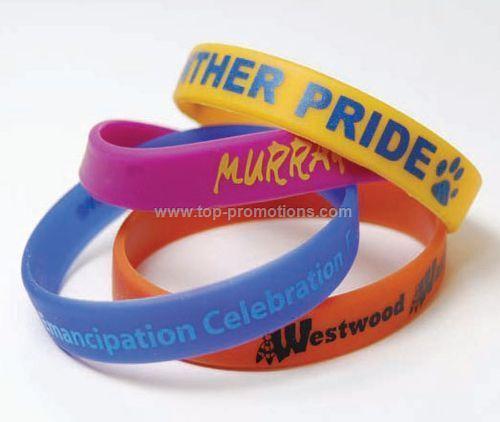 Imprinted Silicone bracelet