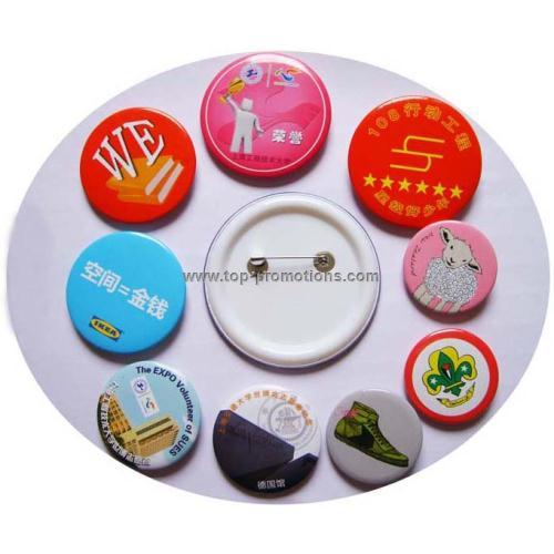 Tinplate Badge pins