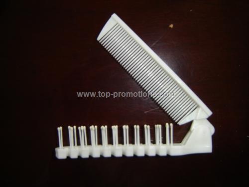 plastic folding comb