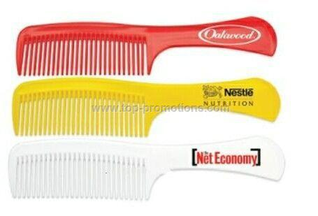 Plastic Comb With Handle