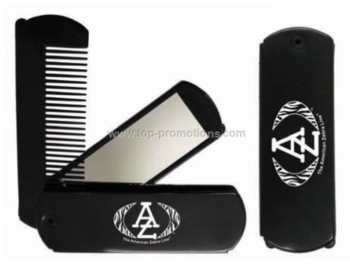 Comb Pocket Mirror