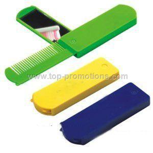 Folding Comb And Mirror