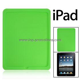 Green Silicone Skin Case Back Cover for Apple iPad