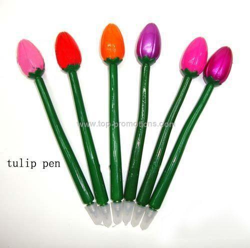 Tulip Flower Shaped Ball Point Pen