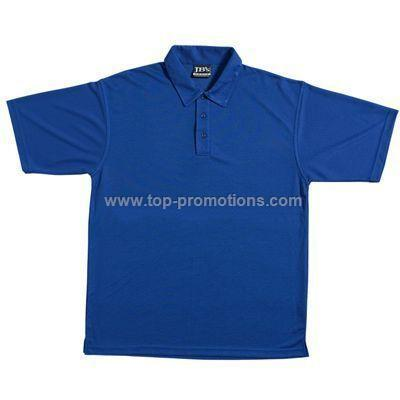 Solid Colour Poly Polo