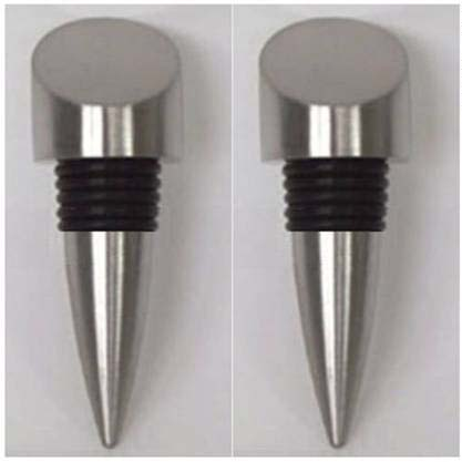 Steel wine stopper