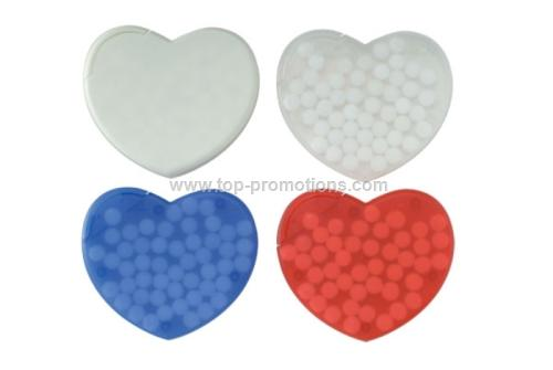 Heart Shaped Mint Cards