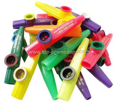 Kazoobie Plastic Kazoos with Logo